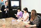 テレビ番組「ズームイン!!SUPER」放送時の写真